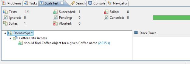 ScalaTest Coffee Example